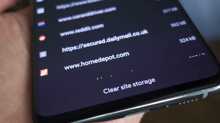 site storage android